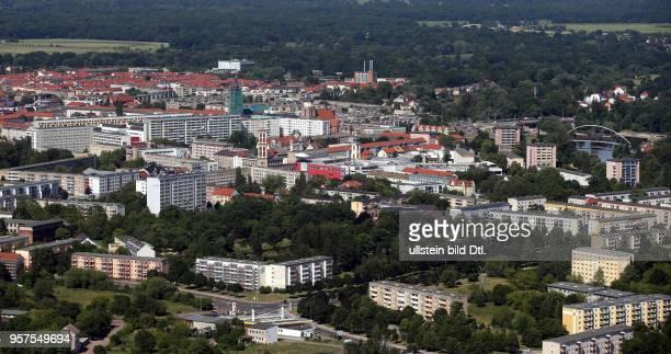 Stadtansicht Ansicht Luftbild Luftaufnahme Desau DessauRoßlau