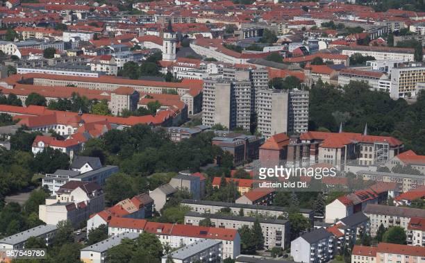 Stadtansicht Ansicht Luftbild Luftaufnahme Dessau DessauRoßlau A