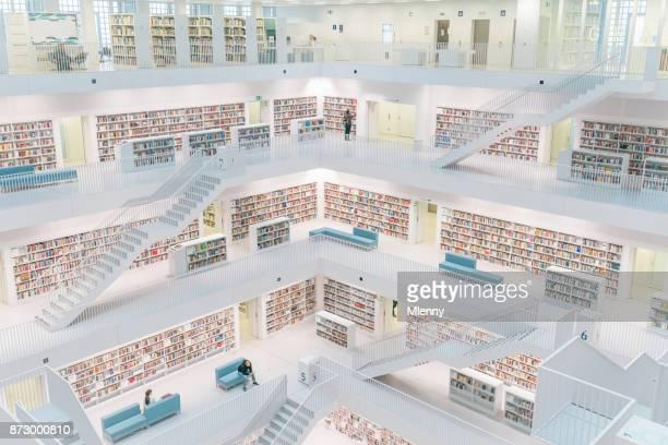 Stadtbibliothek Stuttgart City Public Library Germany