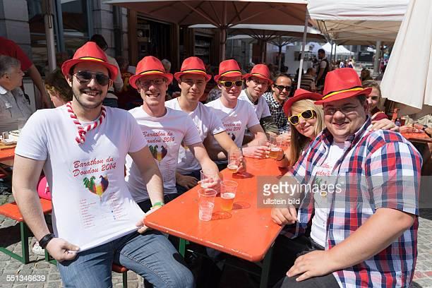Stadtfest Ducasse in Mons immaterielles UNESCOWelterbe Besucher