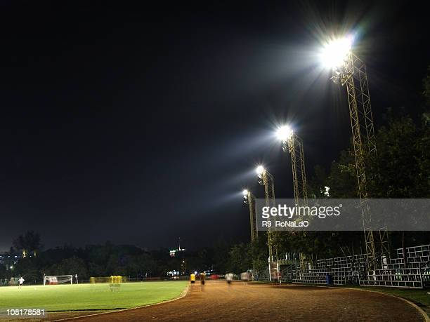 staduim at night - amateur stock pictures, royalty-free photos & images