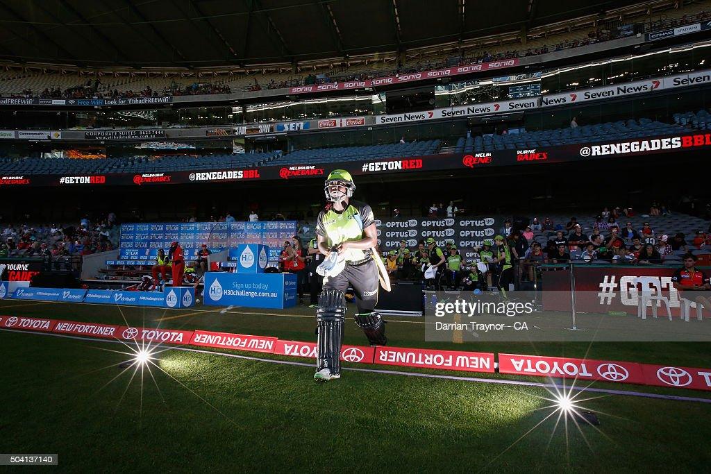 Women's Big Bash League - Melbourne Renegades v Sydney Thunder