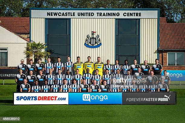 Staff and Players seen as follows BACK ROW Lee Fraser Kerry Morrow Tom Coffield Curtis Good Jamall Lascelles Mike Williamson Karl Darlow Tim Krul Rob...