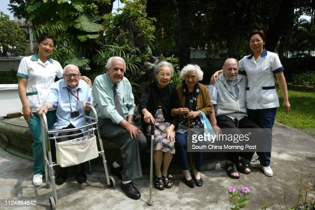 Staff and residents of Hong Kong's only Englishspeaking old people's care home which needs to raise $700000 for essential repairs to roof and kitchen...