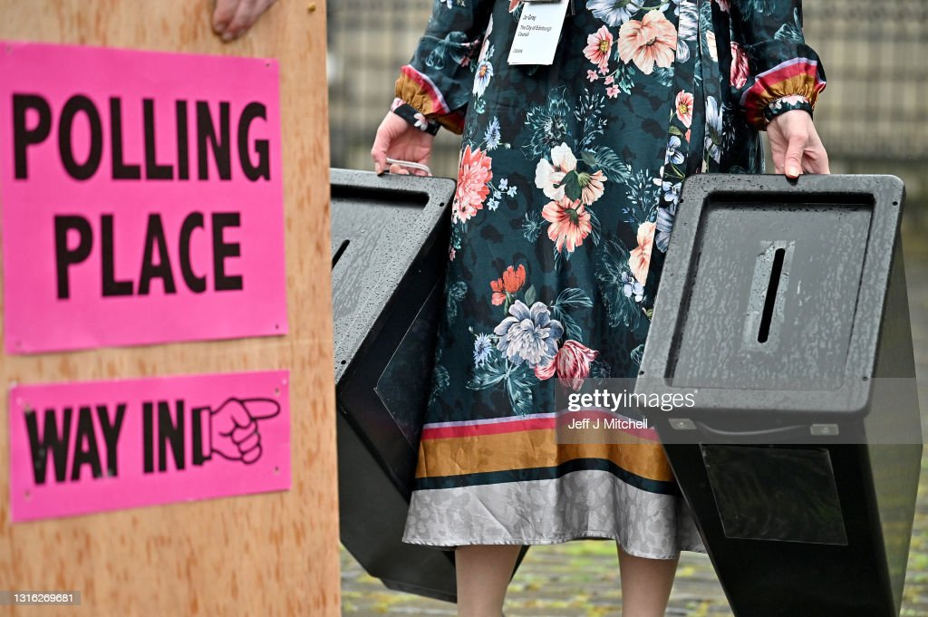 Election Boxes Are Delivered To Polling Stations Ahead Of Thursday's Vote : News Photo