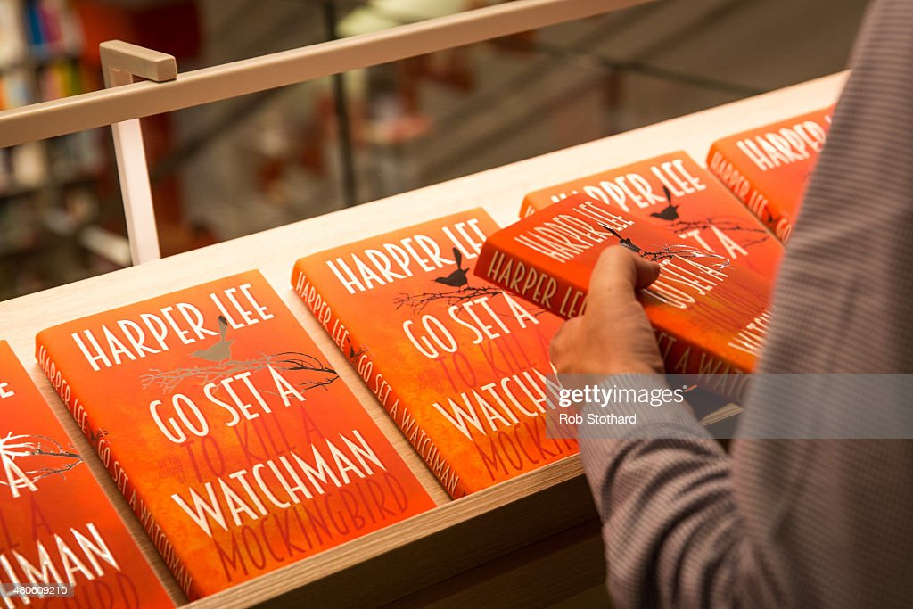 Staff at Foyles book shop prepare to sell copies of 'Go Set A Watchman' by Harper Lee, available shortly after midnight, on July 13, 2015 in London, England. Go Set a Watchman was written in the mid-1950s before Lee's Pulitzer Prize winning novel To Kill a Mockingbird, which was published in 1960. The original manuscript was then lost for nearly half a century years, discovered by Harper Lee's lawyer in late 2014. The novel goes on sale on July 14. The Go Set a Watchman