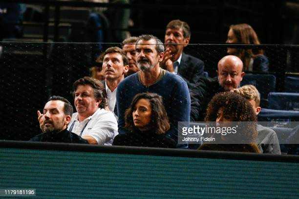 Staff Jeremy CHARDY and his wife Susan GOSSAGE during the Day 4 of the Rolex Paris Masters at AccorHotels Arena on October 30 2019 in Paris France