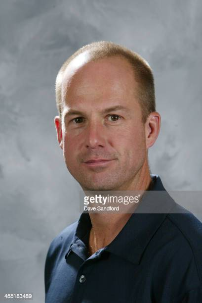 NHL staff member Kay Whitmore poses for his official headshot for the 20072008 season on September 13 2007 at the Toronto Airport Marriott Hotel in...