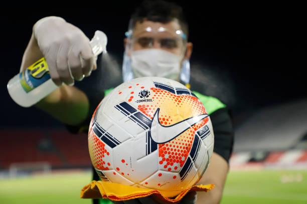 PRY: Guarani v Palmeiras - Copa CONMEBOL Libertadores 2020