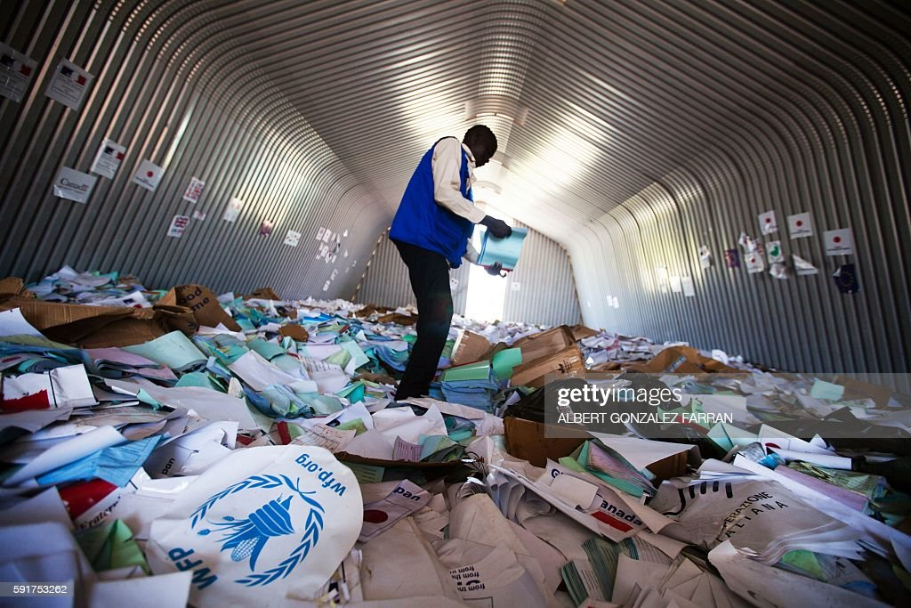 SSUDAN-UNREST-AID-FOOD-UN : News Photo