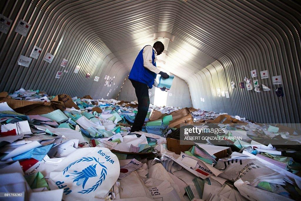 SSUDAN-UNREST-AID-FOOD-UN : News Photo