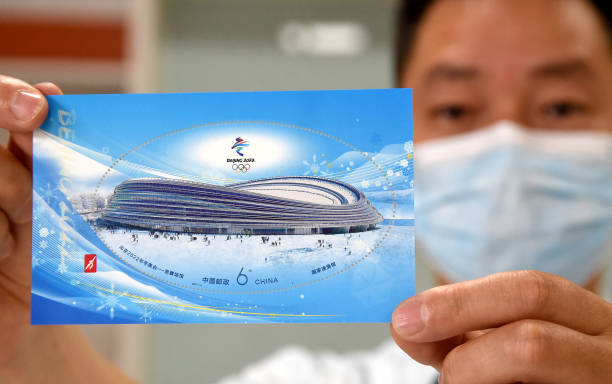 CHN: China Post Releases Commemorative Stamps For Beijing 2022 Winter Olympic Venues
