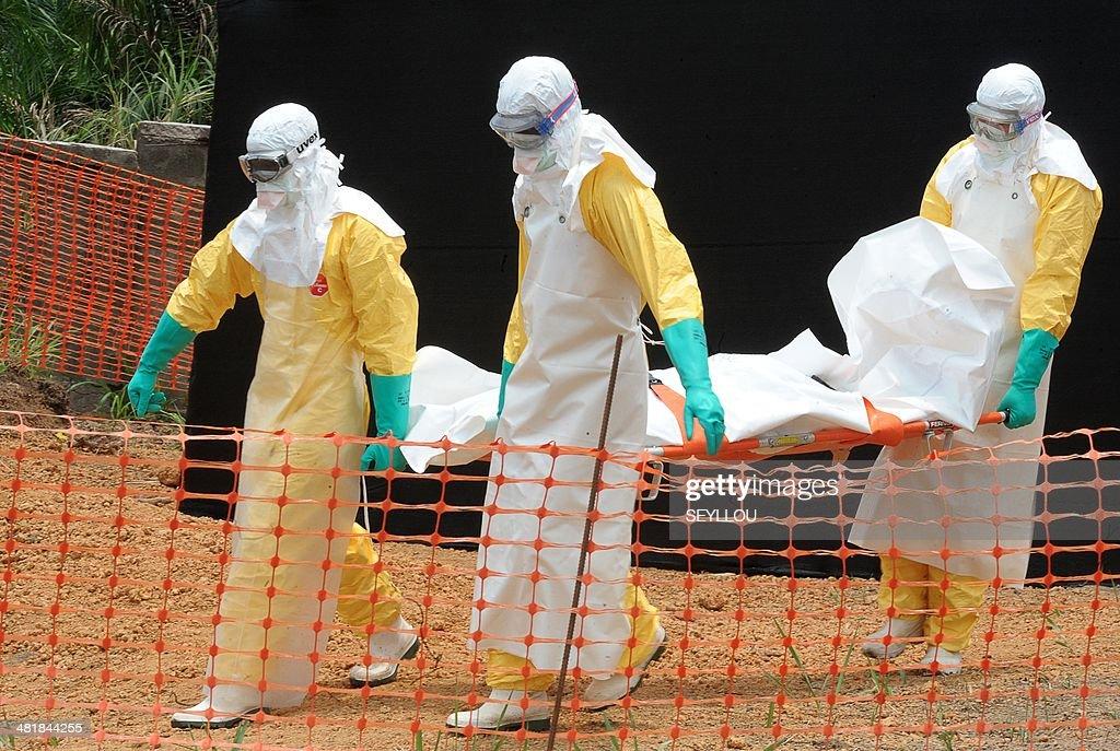 GUINEA-HEALTH-EBOLA : News Photo