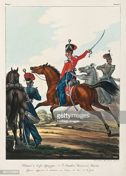 Staff Officer and Chief Officer of the Don Cossacks army 18301840s From a private collection