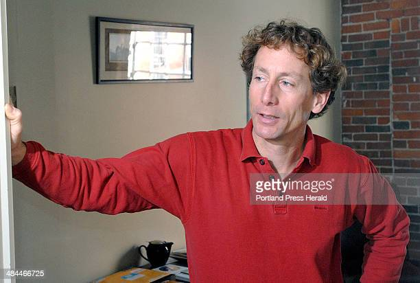 Thursday January 3 2008 David Bennell a leasor in Sparhawk Mill in Yarmouth talks of watching wildlife out the window of his office Dan Coyn has a...