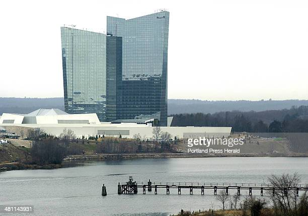 Staff Photo by Gregory Rec Thu Mar 14 2002 The Mohegan Sun casino a second Indian casino in Connecticut is operated by the Mohegan Tribe and is...