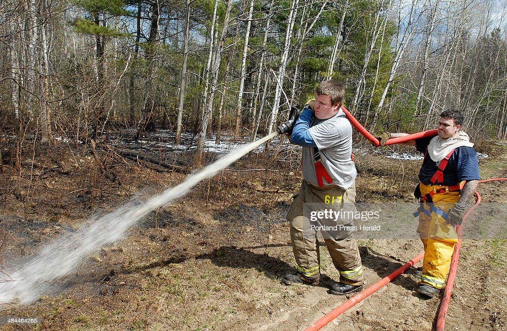 To hose down