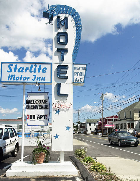 The Starlite Motor Inn On East Grand Ave In Old Orchard Beach