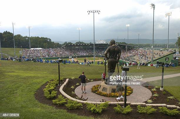 Staff PHoto by John Ewing 08/19/05 The opening game of the 2005 Little League World Series got underway at Lamade Stadium in Williamsport...