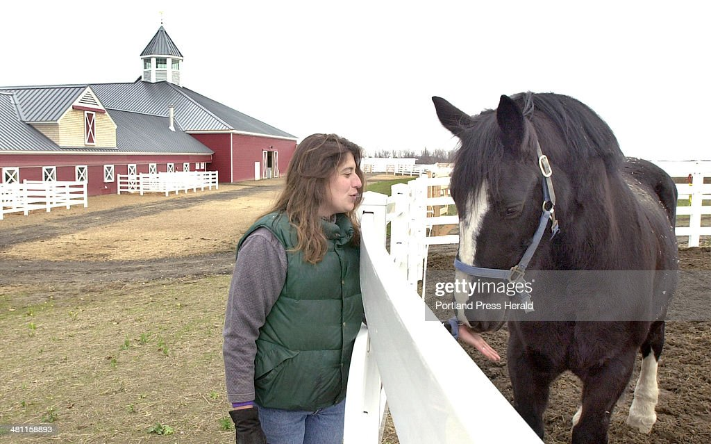 Marika Clark O'Brien is the new stable manager of the new equestrian center in Gray. : News Photo