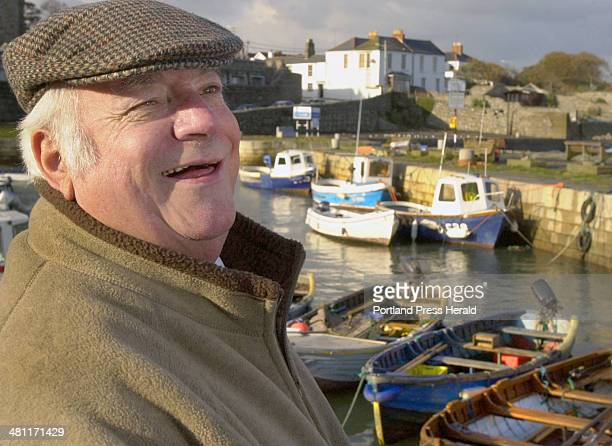 Staff photo Photo by John Ewing 10/23/03 Frank Gaughran was a merchant mariner for 42 years before retiring to his home in Dalkey Ireland and enjoys...