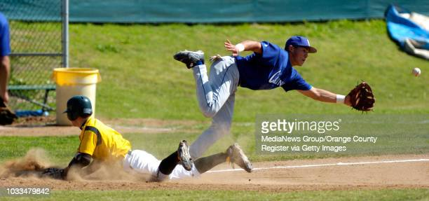 SCOTT VARLEY Mira Costa takes on El Camino in the Redondo baseball tournament After a throwing error Austin Chavira stretches his hit into a triple...