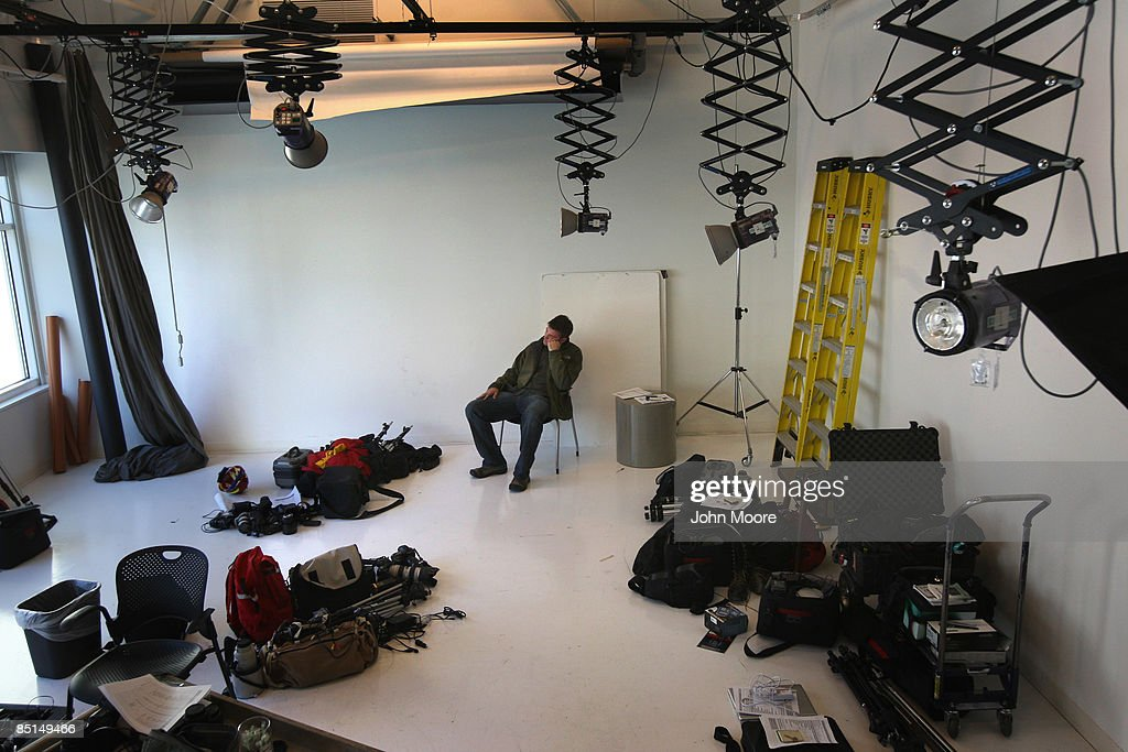 Staff photographer Matt McClain waits to turn in his photo equipment in the Rocky Mountain News photo studio on February 27, 2009 in Denver, Colorado. Today's edition was the last for the nearly 150-year-old daily, Colorado's oldest newspaper. Parent company E.W. Scripps Co. announced yesterday that the paper would close after efforts to find a buyer failed. McClain was one of some 200 staffers to lose their jobs.