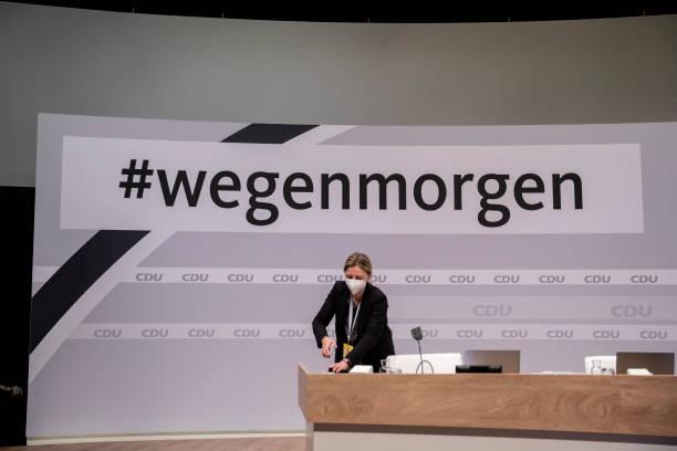 DEU: CDU To Hold Digital Party Congress, Choose New Leader