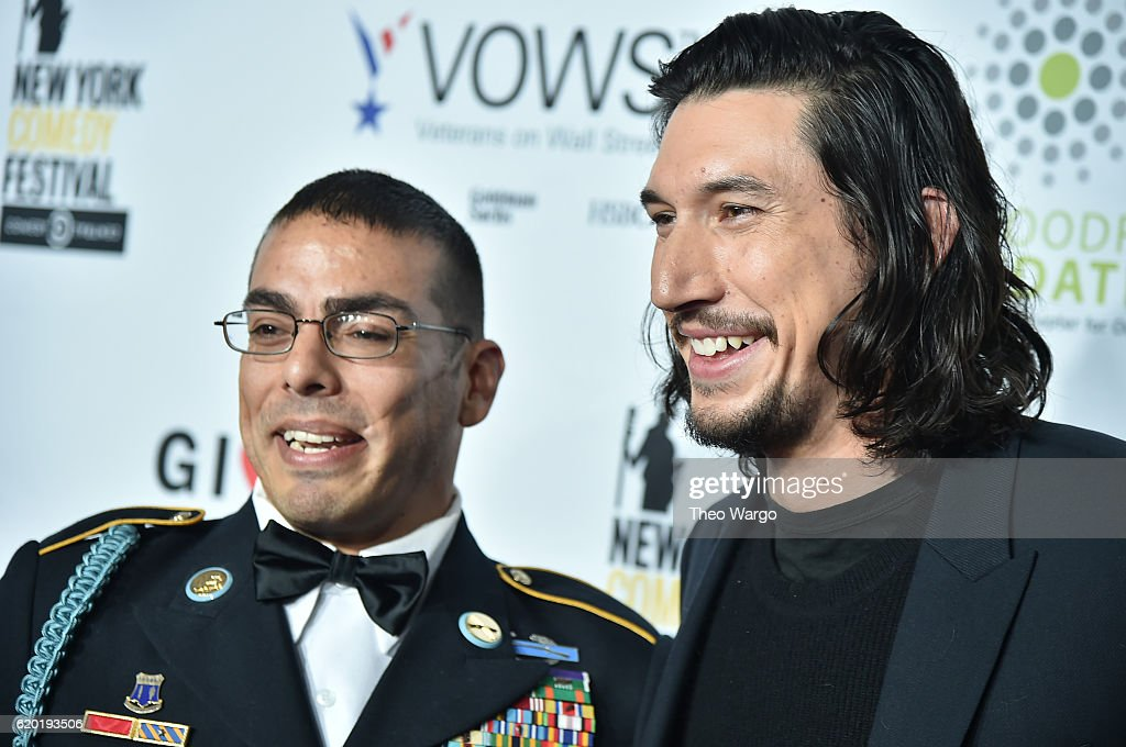"""Star Wars"" actor Adam Driver joined the United States Marine Corps after the September 11 attacks."