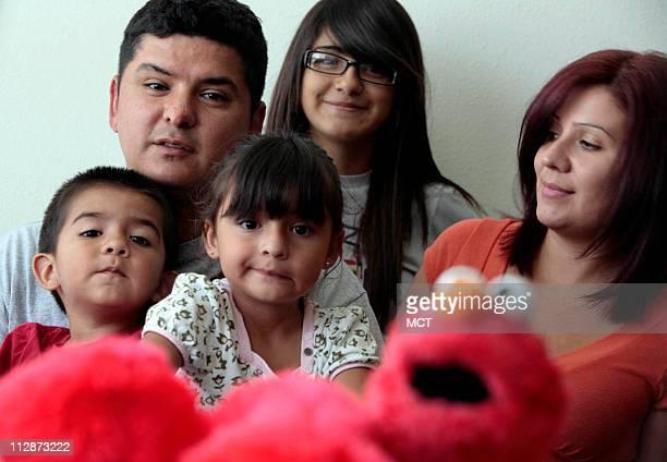 Staff Sgt Ramon Padilla of the 173rd Airborne shown here with his family Ramon Padilla 2 Emily Padilla 3 Melissa Padilla 14 and Judith Padilla in...