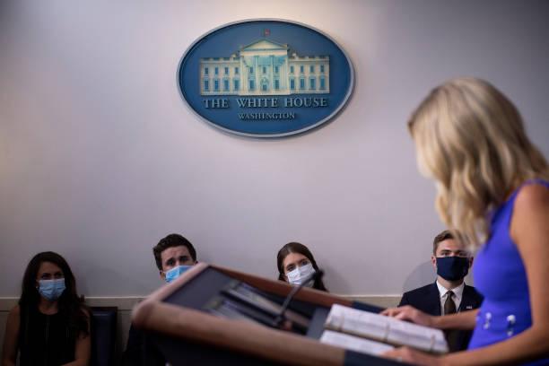 DC: Press Secretary Kayleigh McEnany Briefs Press At White House