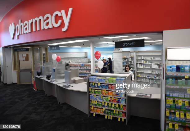 Staff works in the pharmacy at the new CVS Pharmacy on May 30 2017 in Parker Colorado The Parker location is the first standalone CVS location in...