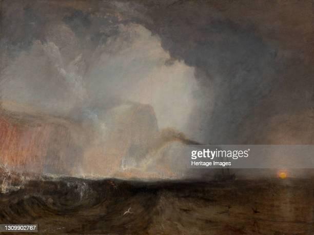 Staffa, Fingal's Cave, 1831 to 1832. Artist JMW Turner. .