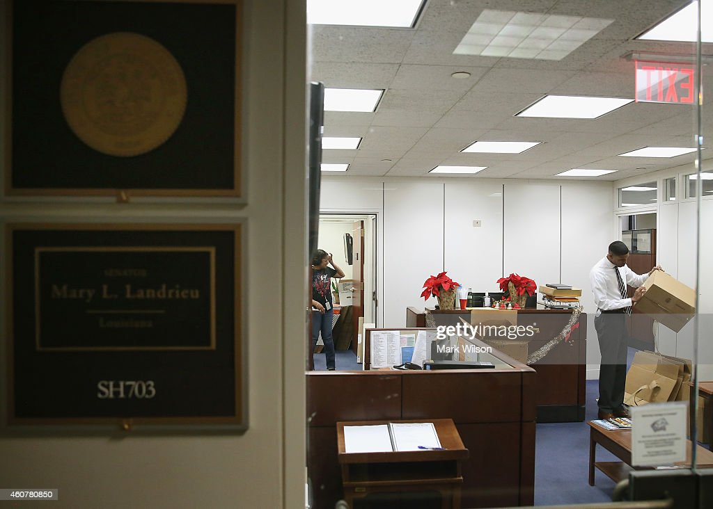 Senate Offices Re-Furbished Ahead Of Inauguration Of 114th Congress