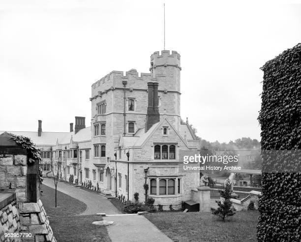 Stafford Little Hall Princeton University Princeton New Jersey USA Detroit Publishing Company 1902