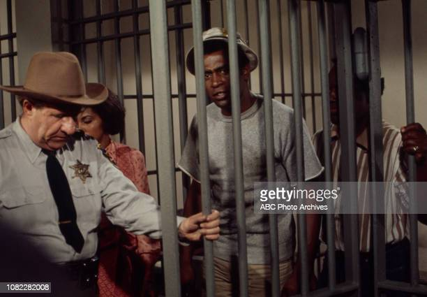 Stafford Repp Tracy Reed Scoey Mitchell Nipsey Russell appearing in the Walt Disney Television via Getty Images series 'Barefoot in the Park' episode...