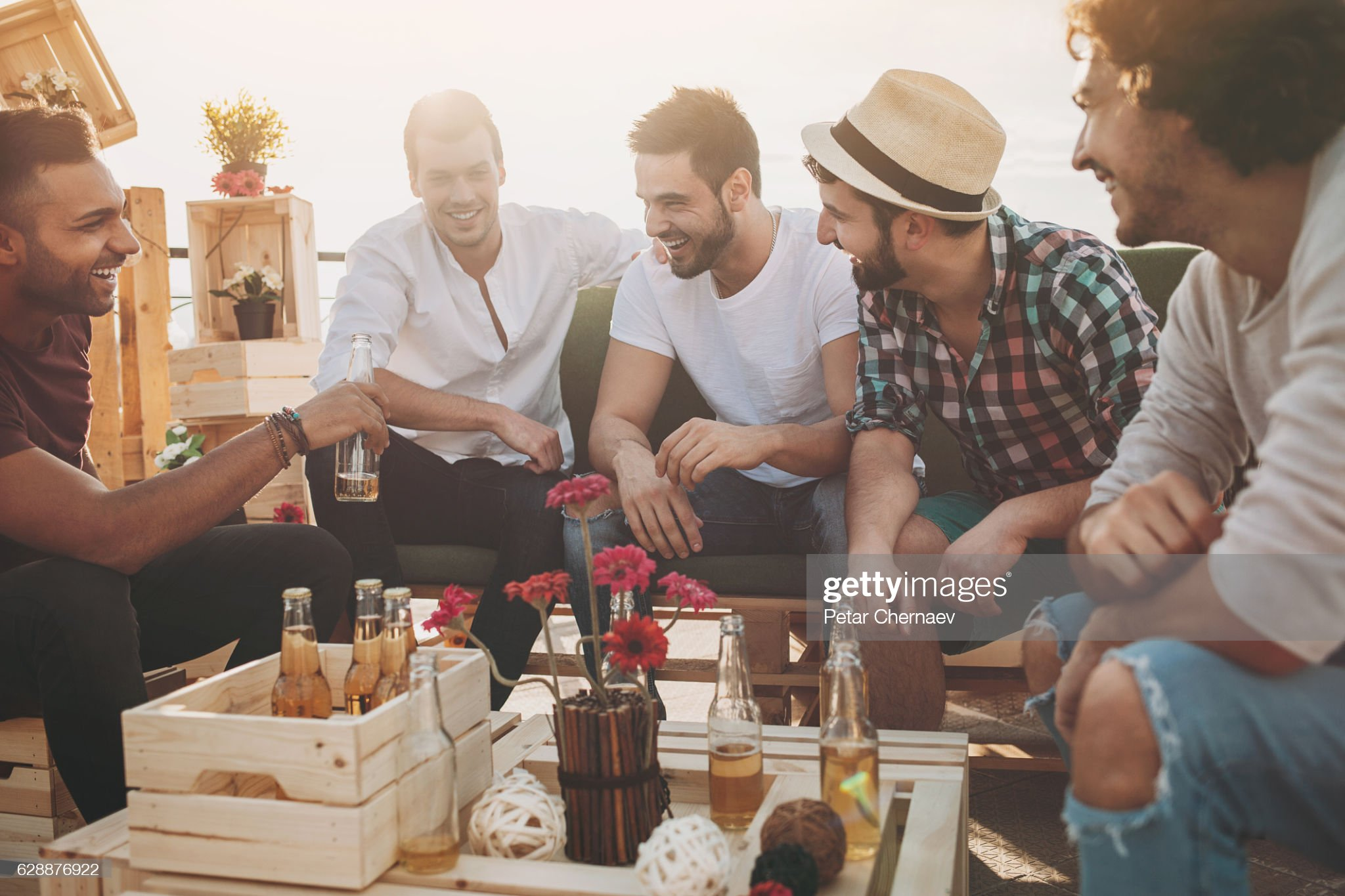 Stag night : Stock Photo