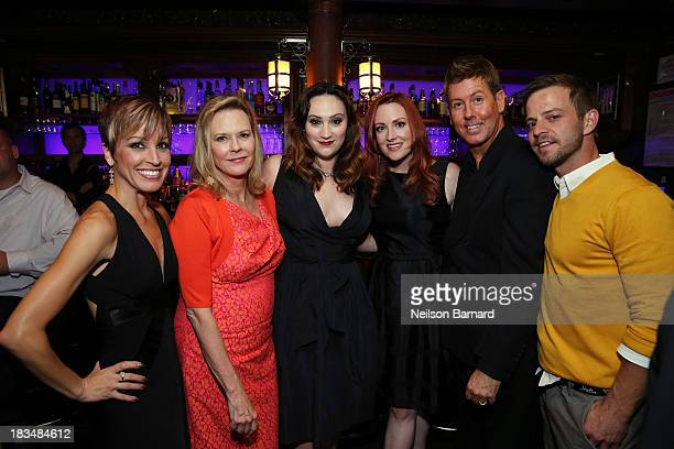 Stage actress Jill Burke actress and Screen Actors Guild Foundation President JoBeth Williams stage actress Eden Espinosa stage actress Laura...