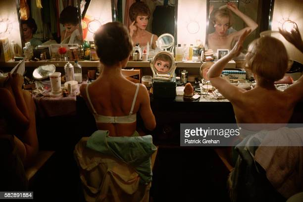 Stage Actresses in Their Dressing Room