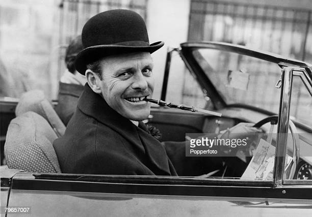 1958 London English comic actor Terry Thomas on his way to court to face charges of being drunk in charge of a car Terry Thomas was a popular actor...