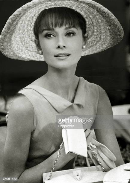 1964 Actress Audrey Hepburn in the film Paris When It Sizzles Audrey Hepburn born in Brussels a truly international star from a cosmopolitan...
