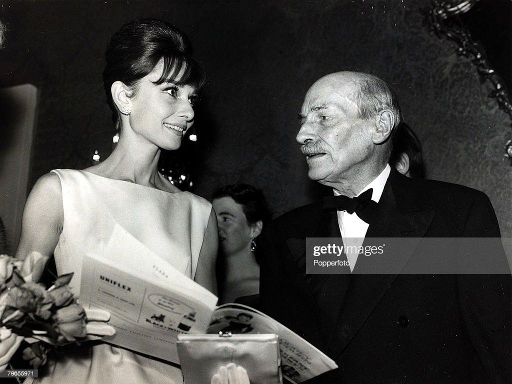19th October 1961, Actress Audrey ...
