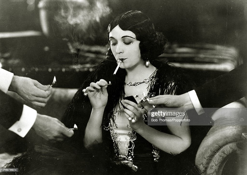 Stage and Screen. Personalities. pic: circa 1926. Polish born actress Pola Negri (1894-1987) appearing in the film Good and Naughty'. : News Photo