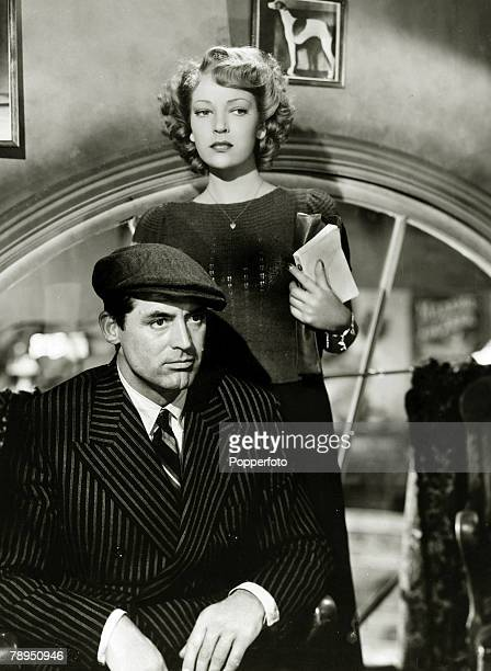 circa 1945 Actor Cary Grant appearing alongside actress June Duprez British born American actor Cary Grant portrait described as the epitome of the...