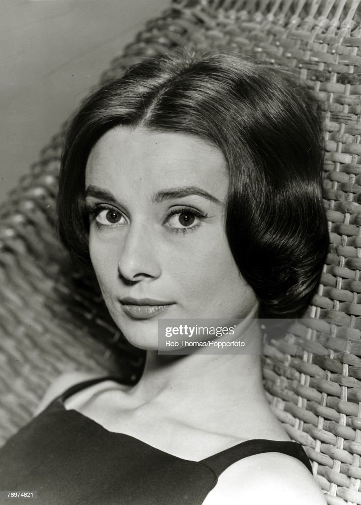 circa 1950's, Actress Audrey Hepburn, portrait, Audrey Hepburn, (1929-1993) born in Brussels, a truly international star from a cosmopolitan background, starred in many films, eg, 'My Fair Lady' and 'Breakfast at Tiffany's'