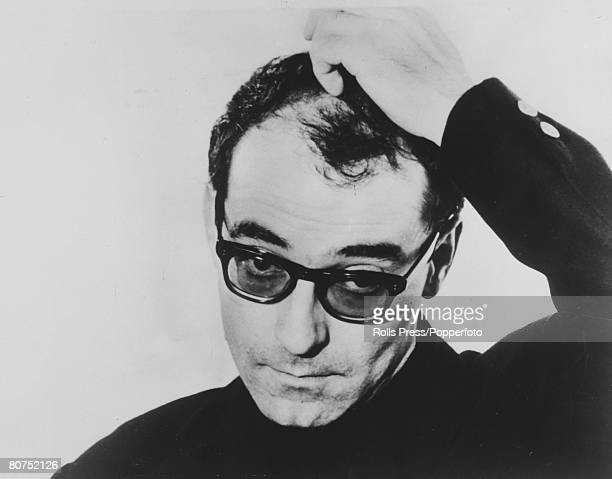 July 1968 French Film Director JeanLuc Godard born 1930 pictured during the filming of One Plus One which featured the Rolling Stones