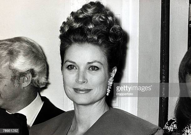 Stage and Screen Royalty Personalities pic 27th October 1972 Princess Grace of Monaco pictured in Leeds England The former Grace Kelly born in...
