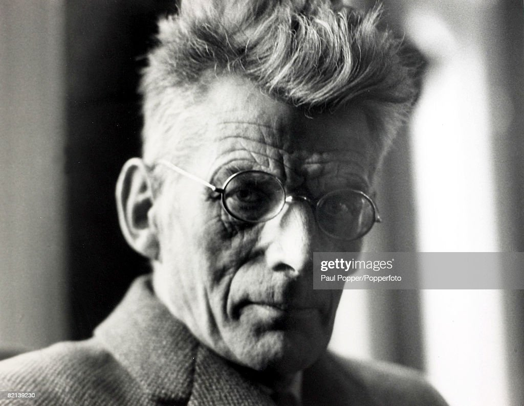 Stage and Screen,Literature, Personalities, pic: circa 1960's, Samuel Beckett, (1906-1989) Irish born playwright and novelist, who won the Nobel Prize for Literature in 1969 : News Photo