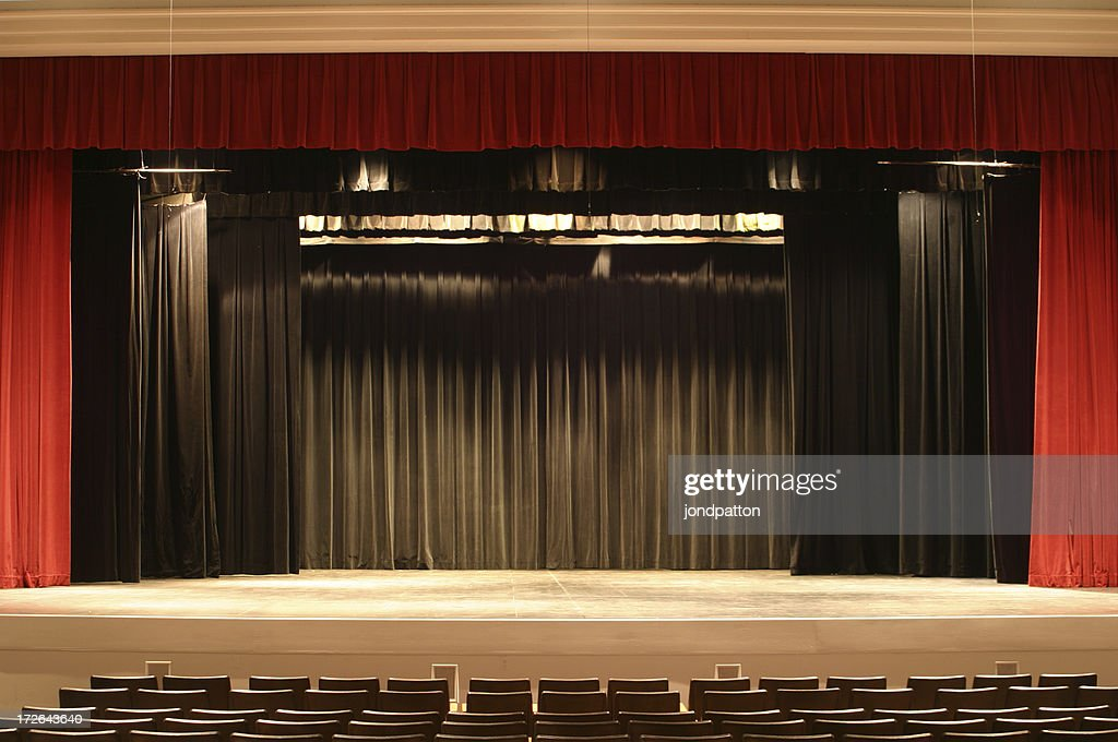 Stage Curtain 2 : Stock Photo