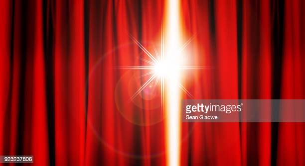 stage curtain light - opera stage stock pictures, royalty-free photos & images
